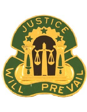 Group Unit Crest (3rd Military Police Group Unit Crest (Justice Will Prevail))