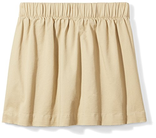 Amazon Essentials Girls' Uniform Skort, Khaki, S (6/7) by Amazon Essentials (Image #4)