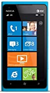 Nokia Lumia 900 16GB Windows Smartphone, GSM Unlocked - Cyan Blue (Renewed)