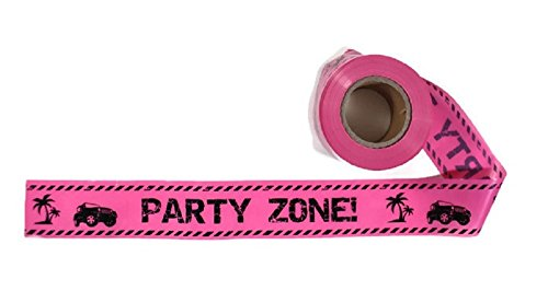 Party Zone! Party Tape - 300 Foot Roll, 3