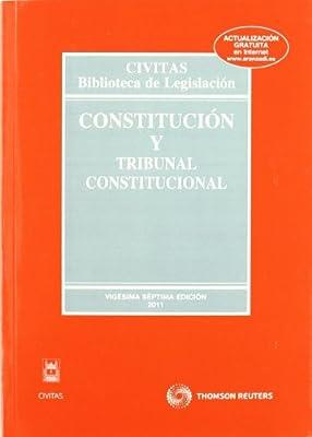 Constitución y Tribunal Constitucional Biblioteca de Legislación: Amazon.es: Linde Paniagua, Enrique: Libros