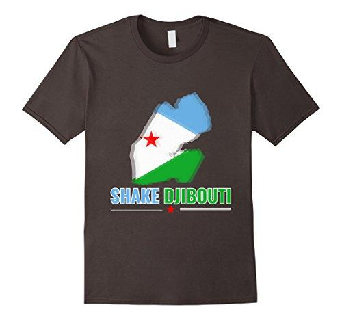 Mens Djibouti Shirt Shake Djibouti T Shirt XL Asphalt
