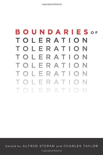 Boundaries of Toleration (Religion, Culture, and Public Life)