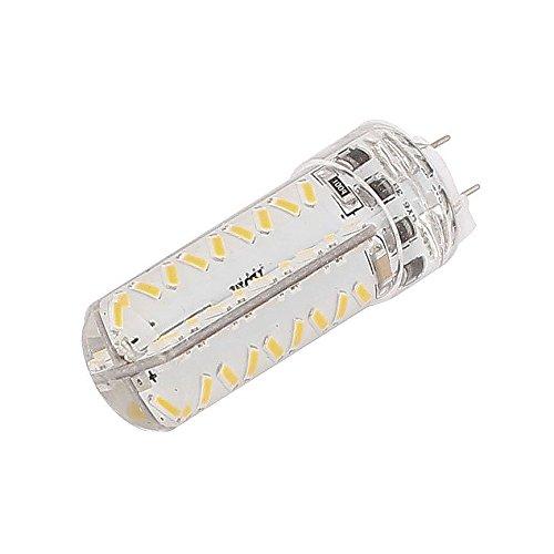 Bombilla regulable - TOOGOO(R)GY6, 35 Bombilla 3W 72 LED 3014 SMD Bombilla Lampara luz blanca calida AC 220 V - 240 V