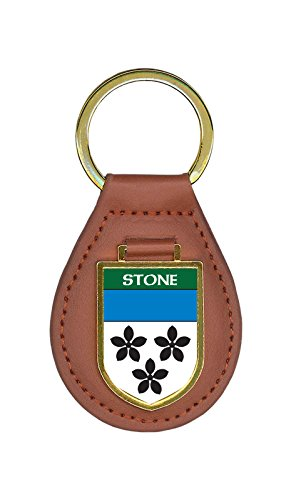 Stone Family Crest 10 Coat of Arms Key Chains - Stone Family Crest
