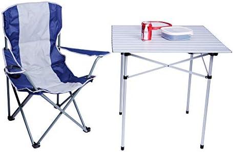 Amazon.com: Dporticus - Silla de camping plegable y duradera ...