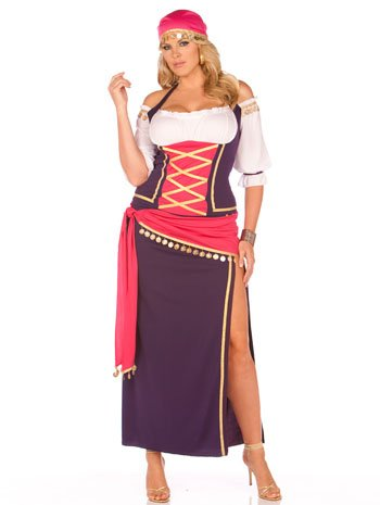 Gypsy Maiden Plus Costumes - Gypsy Maiden Adult Costume - Plus Size 3X/4X