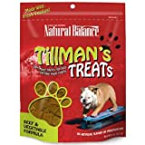 Natural Balance Training Tips Beef Vegetable Dog Treats (Pack of 6-Ounce Bag), My Pet Supplies