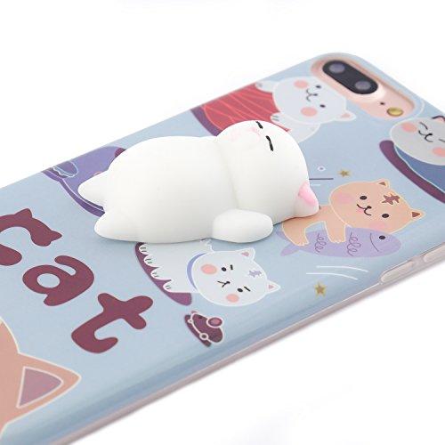 iPhone 6 6s Hülle, Arktis Knuddel Cuddle Case Schmuse Streichel Schutzhülle - Cat Katze