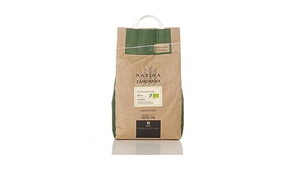 Harina de Trigo Ecológica Integral W-200 5 kg: Amazon.es: Alimentación y bebidas
