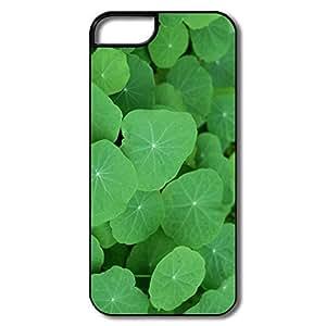 IPhone 5/5S Hard Plastic Cases, Tropaeolum White/black Case For IPhone 5S