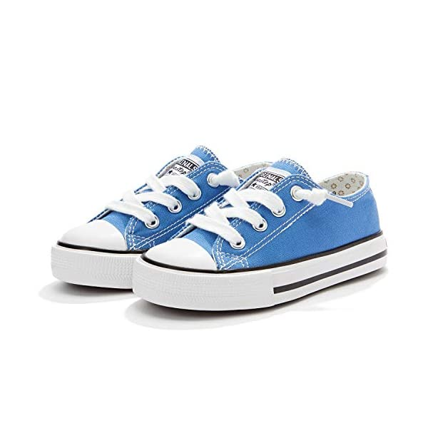 Little Kid Boys and Girls Slip On Canvas Sneakers