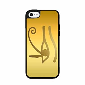 Eye of Ra- Plastic Phone Case Back Cover iPhone 5c