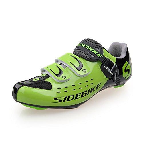 Smartodoors Mtb Scarpe Da Ciclismo Su Strada Con Suole In Carbonio Sd002 (us9 / Eu42 / Ft26.5cm)