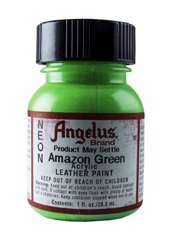 Springfield Leather Company's Neon Amazon Green Acrylic Leather Paint ()