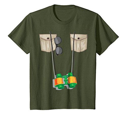 Kids Zoo Keeper Halloween Costume - Jungle Safari Explorer Gift 6 (Olive Costume Halloween)