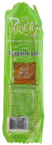 Primal Spirit Foods Primal Strips Meatless Vegan Jerky Mesquite Lime -- 1 oz - 2 pc