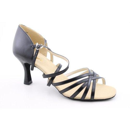 Capezio Womens Rosa 2.5 Social Dance ShoeBlack6.5 M US