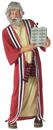 [Moses and the 10 Commandments of Party Costume - Standard - Chest Size 33-45] (Moses Costume Ten Commandments)