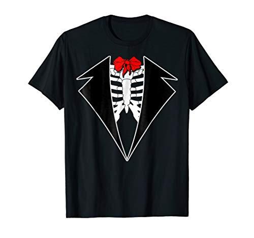 Men's El Novio Muerto Day Of the Dead Groom Costume T-Shirt