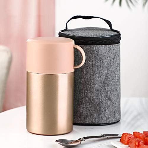 神馬 真空断熱スープジャ 弁当箱 ステンレス ランチ ジャ 小型便携