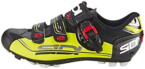 Chaussures Eagle Sidi 7 VTT Noir Jaune qYAHg7