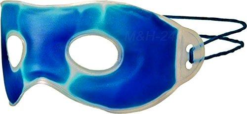 Augengelmaske Gelmaske Entspannungsmaske Augenmaske Kältetherapie Wärmetherapie bei Schlaflosigkeit, Kopfschmerzen, Augenringe entfernen, Heuschnupfen, Falten und Allergie von M&H-24