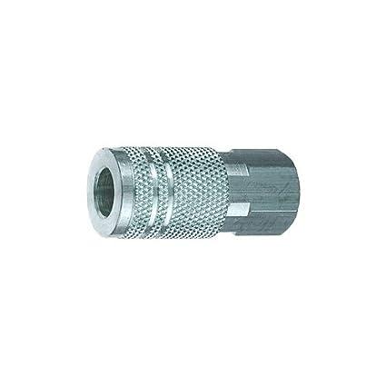 Amflo C26-45-50 Coupler 0.38 Steel 3//8 I//M BARB 1//2 ID