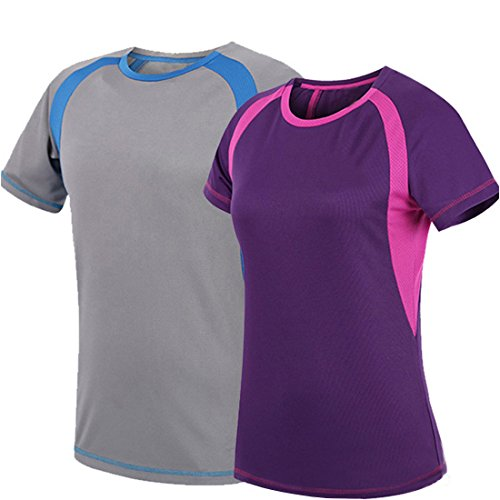 Unisex Outdoor Sports T-shirts with Soft , Lycra, Bamboo , O-neck- solid color