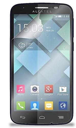 [6-Pack] Alcatel OneTouch Pop C7 Tempered Screen Protector,Find box Tempered Glass Film Screen for Alcatel OneTouch Pop C7 [Anti-Fingerprint] [Scratch Resist] [Non-Full Screen] (Alcatel One Touch Pop C7)