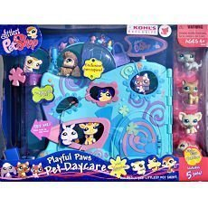 Littlest PetShop Playful Paws Pet Daycare and 5 Pets Bonus (Day Care Pet)
