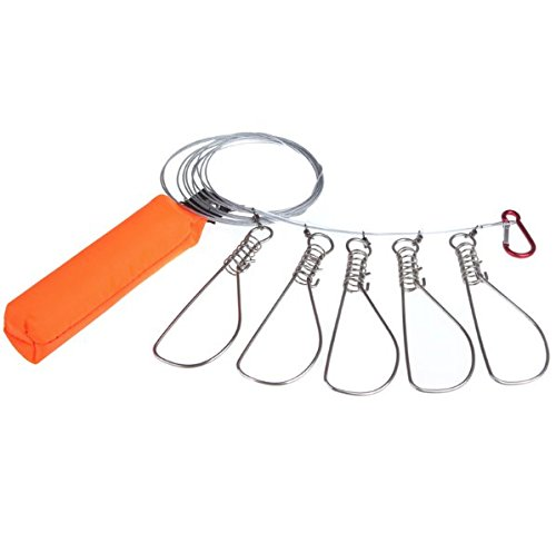 Fishing Stringer Bucket Stainless Tackle