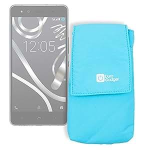 DURAGADGET Funda Smartphone BQ Aquaris X5 Plus / E5 FHD - ¡Ideal Para La Protección De Su Smartphone!