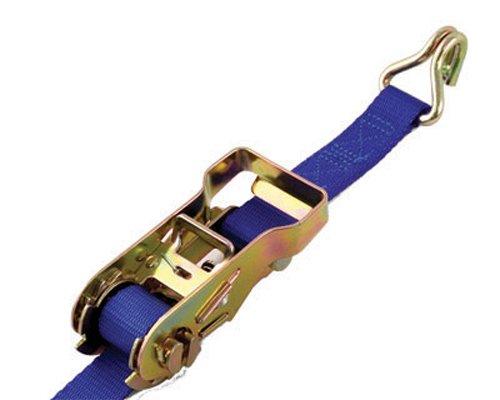 Progrip - Llave de carraca de carga estándar con cincha de poliéster y doble gancho, paquete de 1