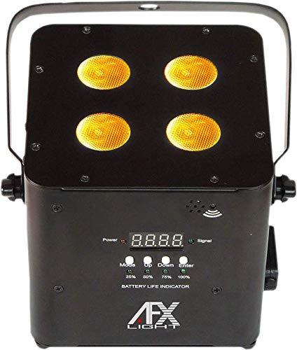 AFX LIGHT FREEPARHEX-BL Proyector LED con Batería y