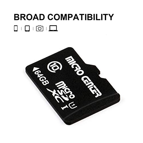 Micro Center 64GB Class 10 Micro SDXC Flash Memory Card with Adapter (2 Pack) by Inland (Image #2)