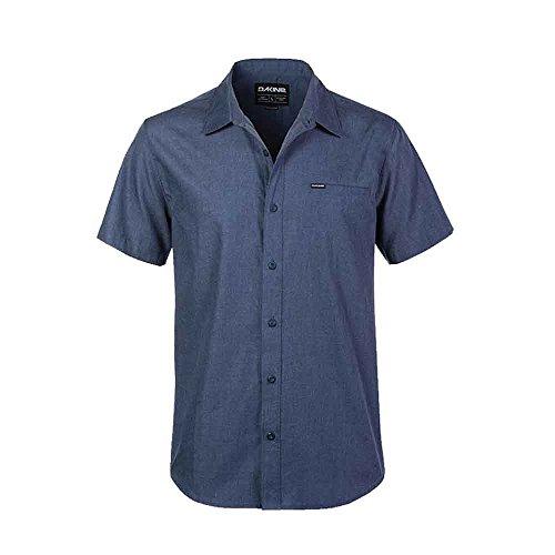 L/s Woven Top (Dakine Men's Kain S/S Woven Shirt (Washed Indigo,L))