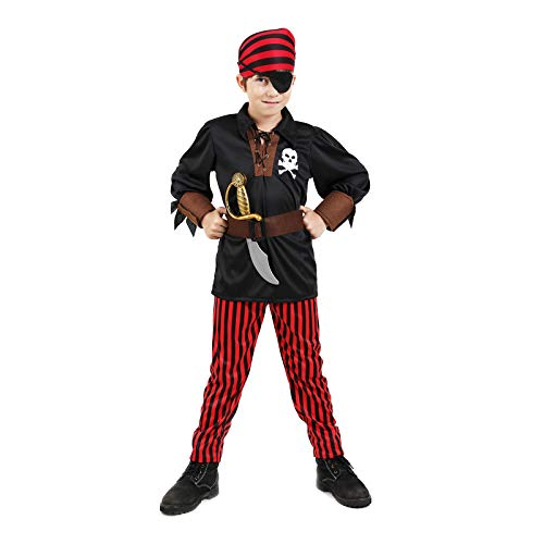 Boys Pirate Costume Halloween Kids Deluxe Costume Set