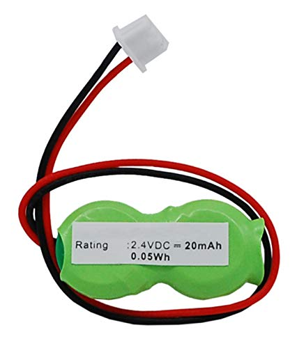 Synergy Digital Battery Compatible with Toshiba Portege M700 Tablet PC CMOS/BIOS Battery (Ni-MH, 2.4V, 20 mAh) - Repl. Toshiba CB17 Battery