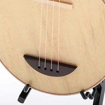 Amazon.es: Toygogo 1/6 Dollhouse Miniatura De Laúd De Madera De La con Soporte Modelo De Instrumento Musical: Juguetes y juegos