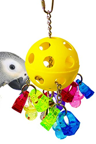 Bonka Bird Toys 1938 Paci-Pull Bird Toy parrot cage toys cages african grey conure by Bonka Bird Toys