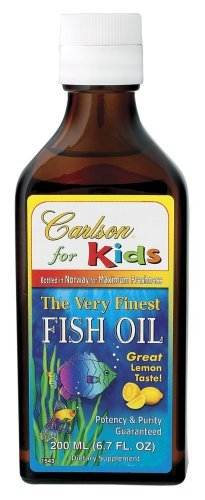 Carlson Laboratories - Enfants Très Finest Fish Oil Lemon, 6,7 fl oz liquide