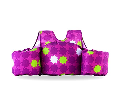 Siran Infant Life Jackets for Kids Baby Swim Float for Toddlers Swim Jacket Flower -