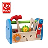 Hape Fix It Kid's Wooden Tool Box and Accessory Play Set