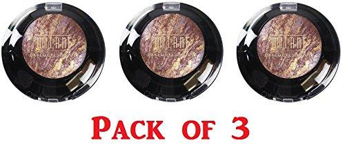 Milani Baked Eye Shadow, 615 Fusion (3 Pack)