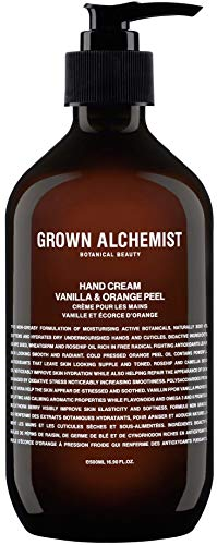 Grown Alchemist Hand Cream - Vanilla & Orange Peel (500ml / 16.9oz)