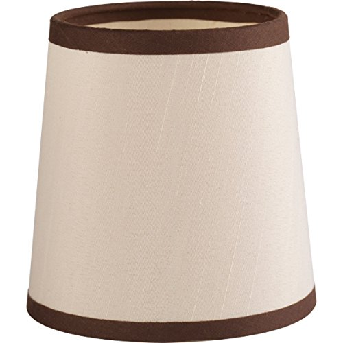 Progress Lighting P860000-001 Allaire Collection Accessory Shade, Champagne Silk by Progress Lighting