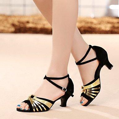 Nós Performance Sapatos 37 Couro Cubana De A 5 Patente Dançando Xiamuo Não Latina De Fúcsia Uk Couro Couro Mulheres Couro Heelindoor De Saltos 6 Ue 4 De 5 5 Patentes Personalizável 7 FwwqHIxz1