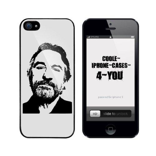 Iphone 5 / 5S Schutzhülle Robert - schwarzer Rahmen