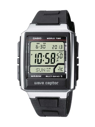 (Casio Wave Ceptor Men's watch Radio time of 5)